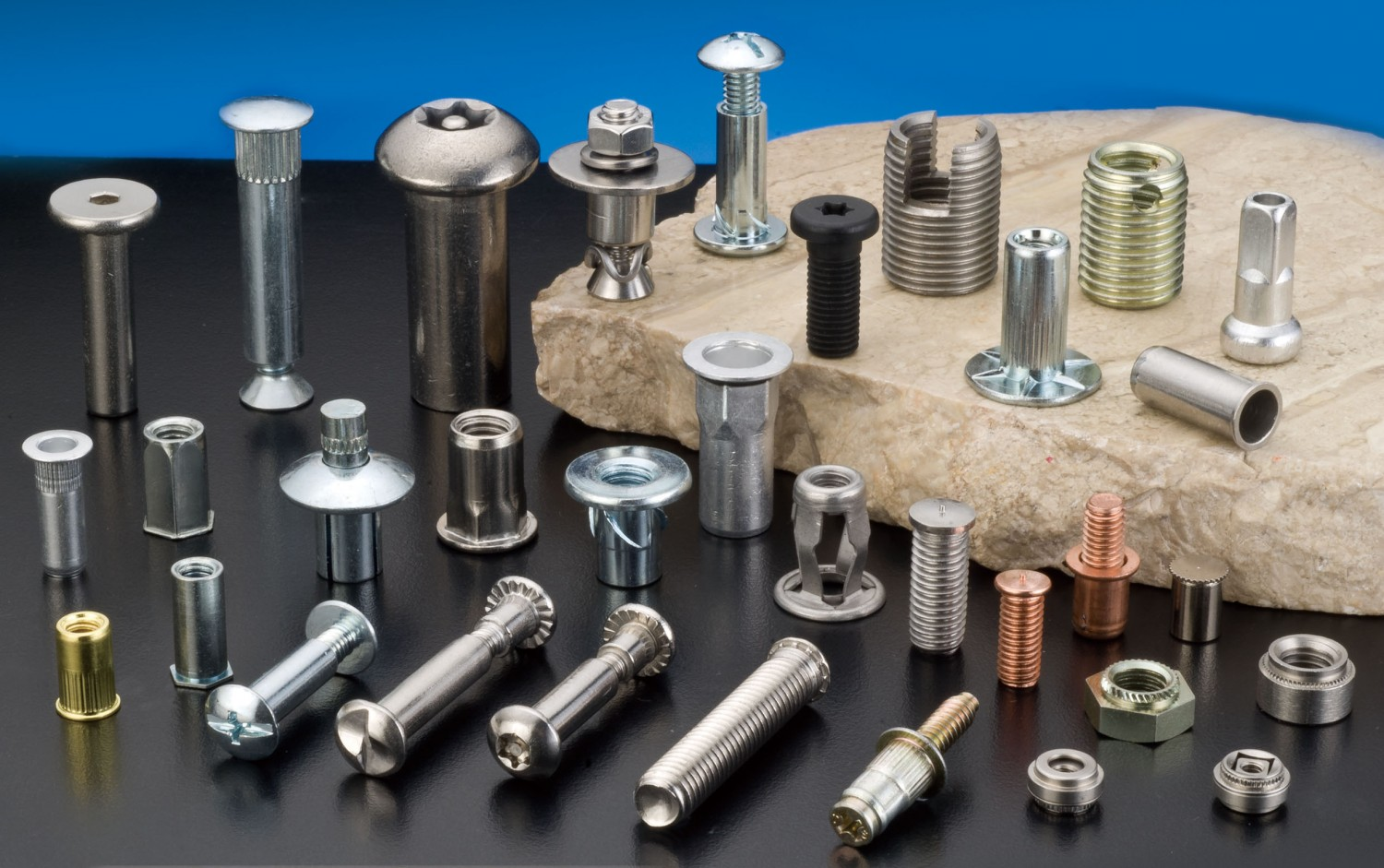 Self Tapping Threaded Inserts Top Screw Metal Corp